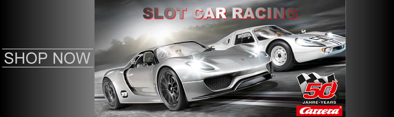 HO Scale, 1:43 Scale & 1:32 Scale Slot Cars, Slot Car Track, Slot Car Race Sets and Slot Car Accessories